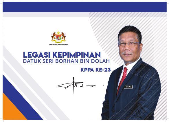 Legasi Kepimpinan Datuk Seri Borhan Bin Dollah - KPPA Ke-23