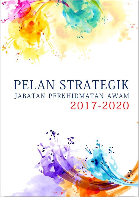 Pelan Strategik Jabatan Perkhidmatan Awam 2017 - 2020