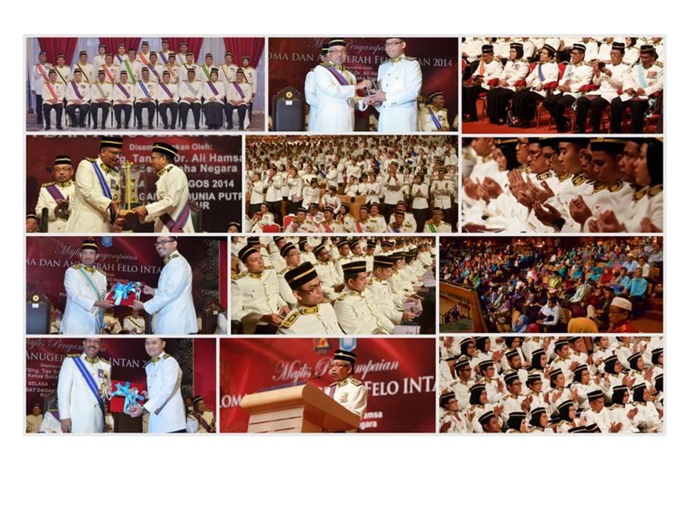 Diploma Presentation Ceremony dan Felo INTAN 2014 Award