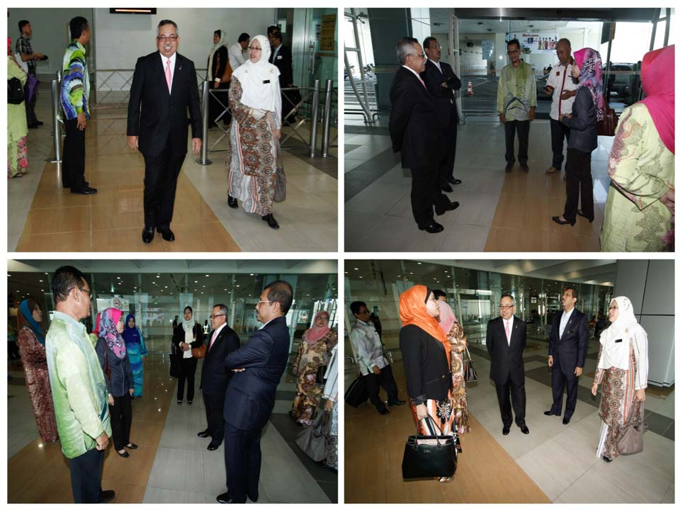 The Arrival of KPPA at the Sultan Abdul Halim's Airport