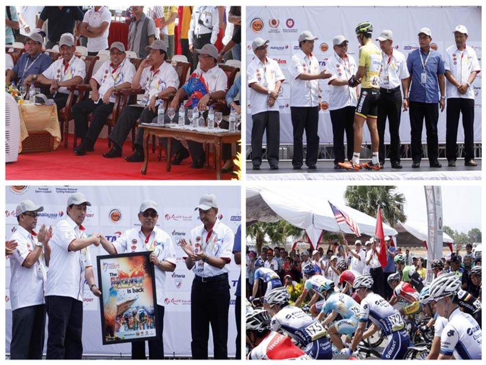 Le Tour De Langkawi Racer's Launching Ceremony by KPPA