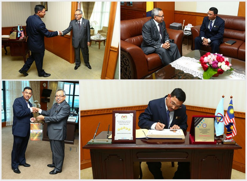 Courtesy Call by Accountant General of Malaysia