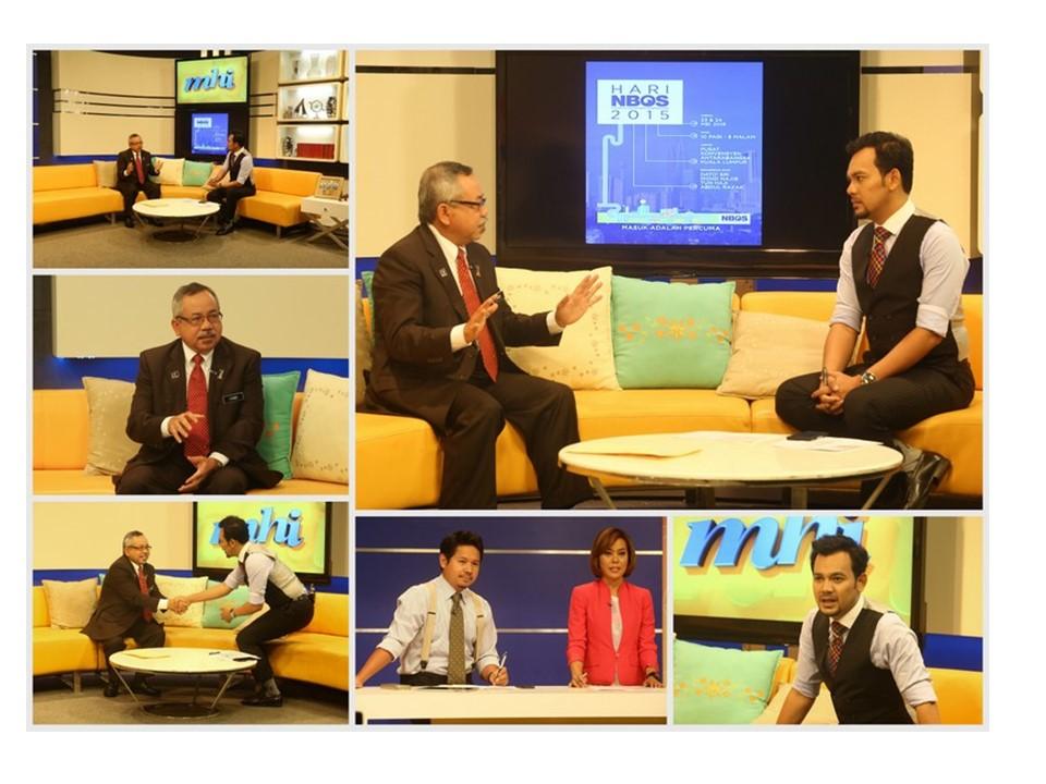 Sesi Temubual KPPA Bersempena Sambutan NBOS 2015 di rancangan MHI TV3