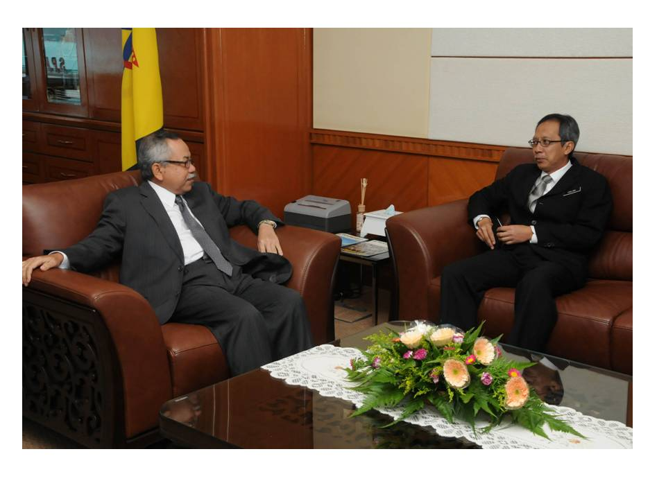 Courtesy Call by Deputy Secretary General (Urban Wellbeing) Ministry of Urban Wellbeing, Housing and Local Government