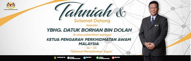 Tahniah Datuk Borhan