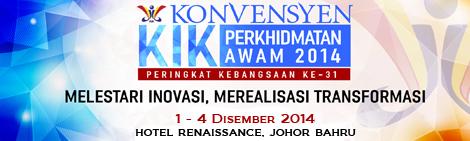 Konvensyen Kumpulan Inovatif dan Kreatif (KIK) Perkhidmatan Awam