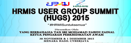HRMIS User Group Summit (HUGS) 2015