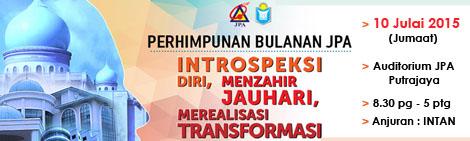Perhimpunan Bulanan JPA - Julai 2015